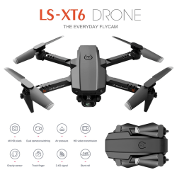 WiFi Fpv Drone with HD Camera Exquisite Children Gifts Foldable 4k dual camera storage box