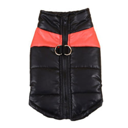 Windproof Dog Skiing Cotton-padded Sleeveless Coat R S