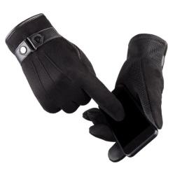 Winter Gloves Men Thicken Warm Touch-Screen Camping Rideing