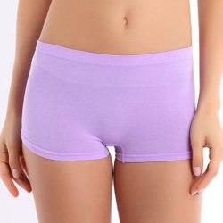 women summer shorts cotton casual Lavender