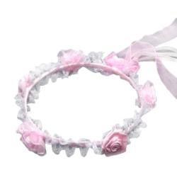 Hårkrans   i   rosa till barn rosa