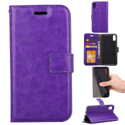 Plånboksfodral til iPhone X - Lila Lila