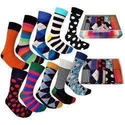 Färgglada Strumpor 10 Par -Socks  Storlek 40-45 multifärg