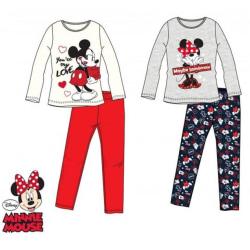 Minnie Pyjamas set LightGrey Ljusgrå 3 år - 98 cm