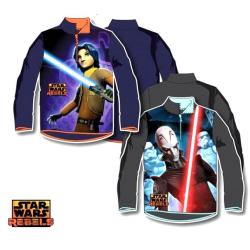 Star Wars Tröja-Rebelle -half zip sweatshirt  MarineBlue Marinblå 6 År-116 cm