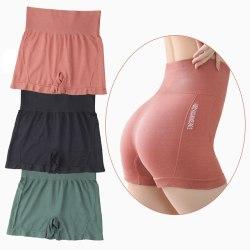 hög midja träning shorts viktiga sömlösa fitness yoga shorts wom