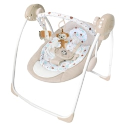 Ladida Babygunga Elegant and Comfy Baby Electric Swing Beige one size