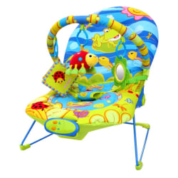 Ladida Babysitter Happy Frog Baby Bouncer Green one size