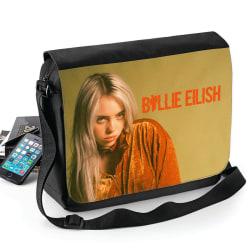 Billie Eilish bild väska med axelrem - skolväska Svart one size