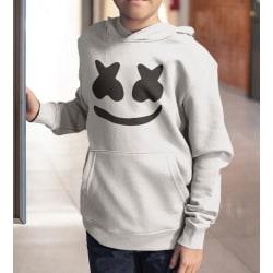 DJ Marshmellow huvtröja hoodie tröja GRÅ 128