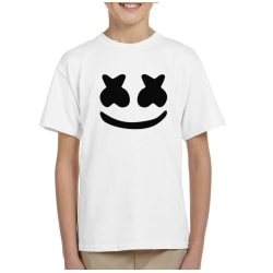 DJ Marshmellow vit barn t-shirt 152