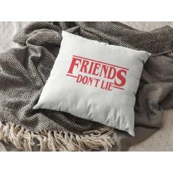 Friends don't lie - Stranger things kuddfodral 50x50 cm
