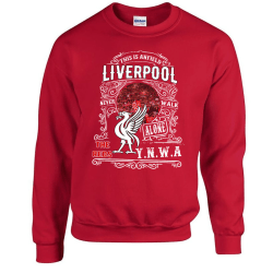 Liverpool vintage stil Sweatshirt- YNWA M