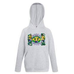 Neymar barn Hoodie Sweatshirt t-shirt - Brasilien spelare design 140cl 9-11�r