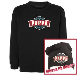 Pappa sweatshirt med vintage stil tryck Pappa mössa på köpet XL