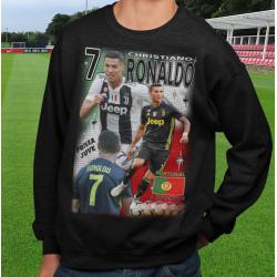 Ronaldo Sweatshirt - Juventus & Portugal spelare tröja t-shirt S