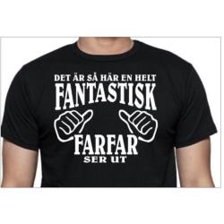 Svart T-shirt  - helt fantastisk Farfar ser ut XL