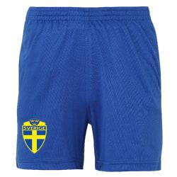 Sverige shorts - Barn storlekar  9-11år
