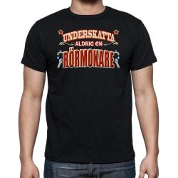 Yrkes Rörmokare T-shirt  - Underskatta aldrig en Rörmokare Svart XXL