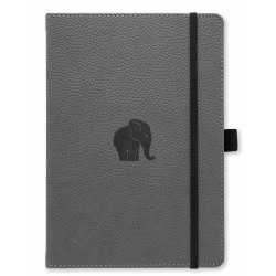 Dingbats* Wildlife A5+ Grey Elephant Notebook 9781913104047