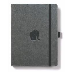 Dingbats* Wildlife A5+ Grey Elephant Notebook 9781913104047