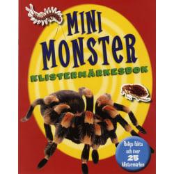 Mini monster klistermärkesbok 9789179027049