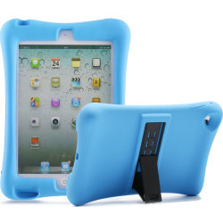 Barnfodral i silikon för iPad mini 4, blå