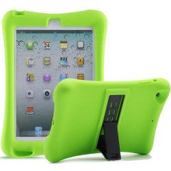 Barnfodral i silikon för iPad mini 5, grön grön