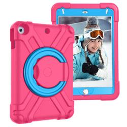 Barnfodral med roterbart ställ, iPad Mini 4, rosa/blå rosa