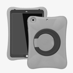 Barnfodral med ställ, iPad Air/iPad Air 2/iPad 9.7 (2017-2018) grå