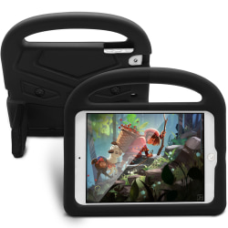 Barnfodral med ställ svart, iPad mini 4 svart