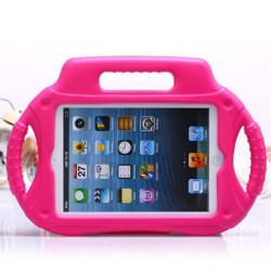 Barnfodral med ställ till iPad Mini/2/3, rosa rosa