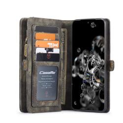 CaseMe fodral med magnetskal, Samsung Galaxy S20 svart