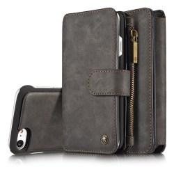 CaseMe plånboksfodral, iPhone 8/7 svart
