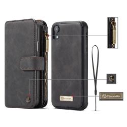 CaseMe plånboksfodral, iPhone XR 6.1 svart
