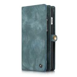 CaseMe plånboksfodral med magnetskal, iPhone 6/6S Plus blå