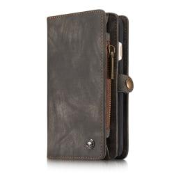 CaseMe plånboksfodral med magnetskal, iPhone 6/6S svart