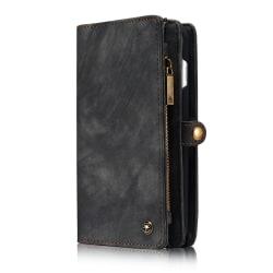 CaseMe plånboksfodral med magnetskal, iPhone 8 Plus, svart