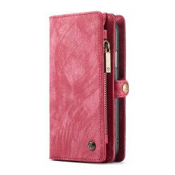 CaseMe plånboksfodral med magnetskal, iPhone XR röd