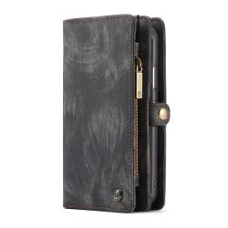 CaseMe plånboksfodral med magnetskal, iPhone XS Max svart