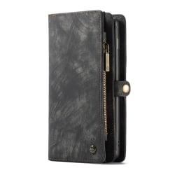 CaseMe plånboksfodral med magnetskal, Samsung Galaxy S10 svart