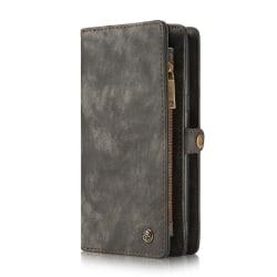 CaseMe plånboksfodral med magnetskal, Samsung Galaxy S8 svart