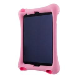 """Deltaco skal i silikon för 10.2""""-10.5"""" iPads med stativ, rosa"""