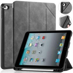 DG.MING Retro Style fodral till iPad Mini 4/5 grå