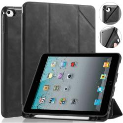 DG.MING Retro Style fodral till iPad Mini 4/5 svart