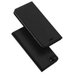 DUX DUCIS Skin Pro Series läderfodral till iPhone 8/7 svart