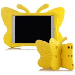 Fjärilsformat barnfodral, Samsung Tab 3 7.0/4 7.0/A 7.0, gul