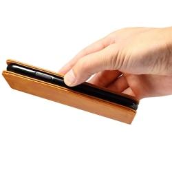 Fodral med ställ och kortplats, iPhone X/XS svart