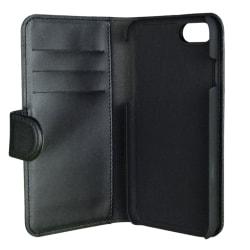 Gear plånboksfodral med magnetskal, svart iPhone 7 Plus