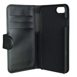 Gear plånboksfodral med magnetskal till iPhone 8/7/6, svart svart